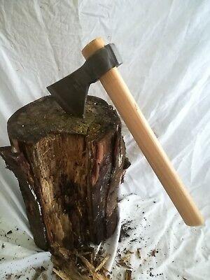 Hacha mango de madera. Gran calidad. 37 cm. 700 gr.