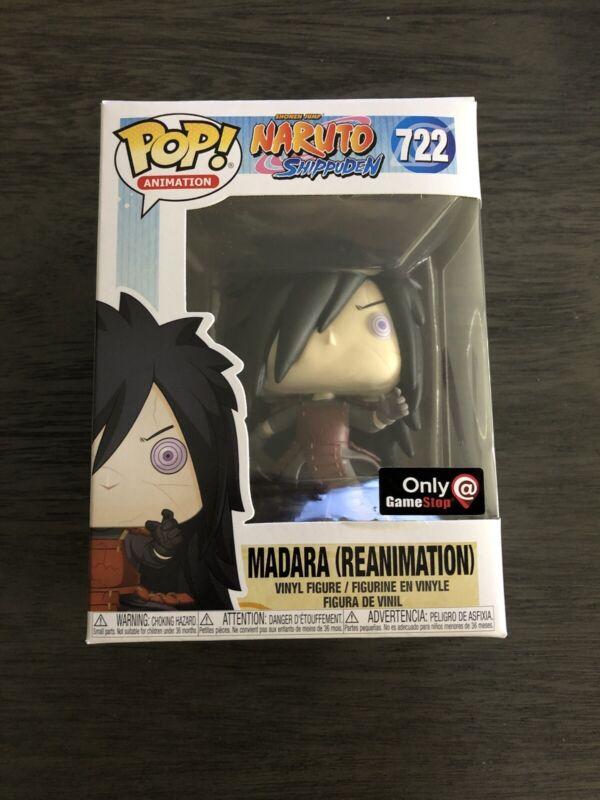Funko Pop Madara Reanimation Naruto Shippuden Exclusive Anime PREORDER Pop 722