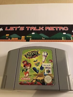 Tonic Trouble Nintendo N64 Pal Cart Only