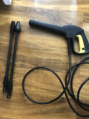 Genuine Karcher K2 Gun, Hose And 2 Lances Bundle