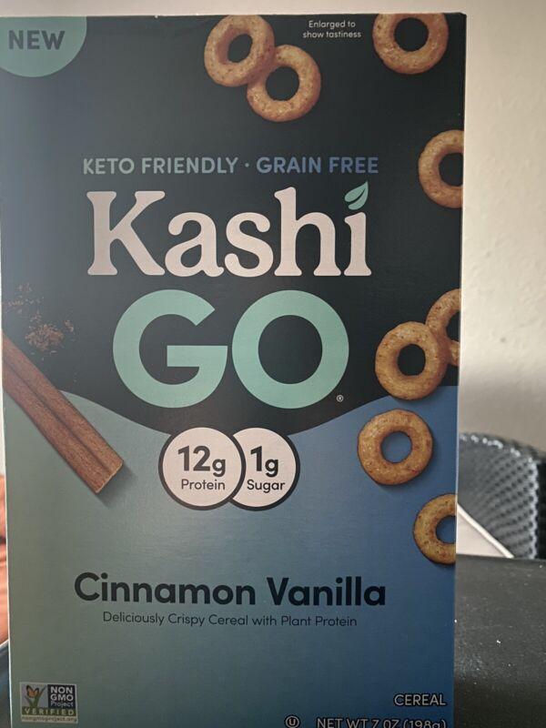 Kashi Go Cinnamon Vanilla Cereal 7 oz