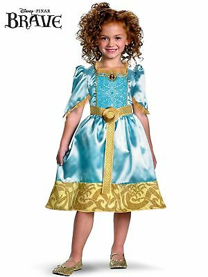 Disguise Disney Princess Brave Merida Classic Girls Costume, Size Small 4-6X - Brave Merida Dress