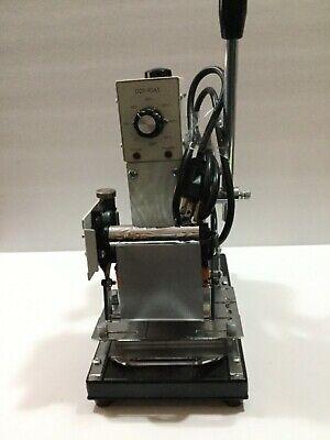 Wtj-90a Manual Hot Foil Stamping Machine Pvc Plastic Card Tipper D810