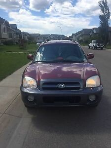 2005 Hyundai Santa Fe For Sale! $3000 OBO!!