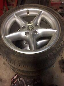 Holden VR Senator rims & tyres. Excellent condition vs gts commodore Yarra Glen Yarra Ranges Preview
