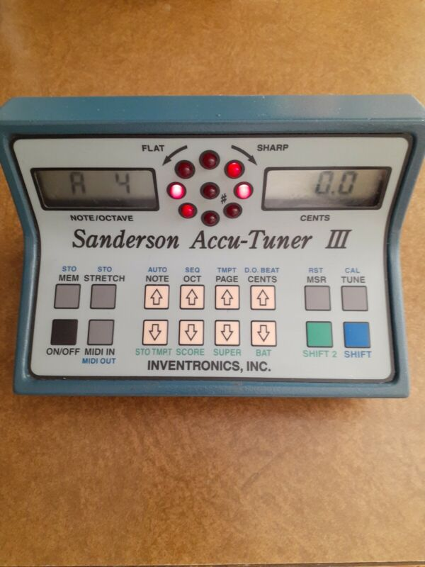 Sanderson Accutuner 3  with Auto Step / piano tuning device