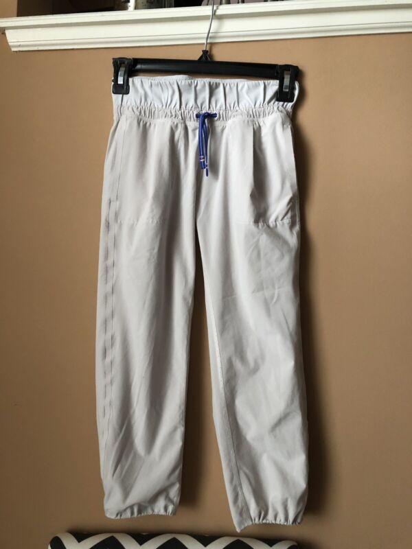 Ivivva Girls Size 10 Grey Pants EUC