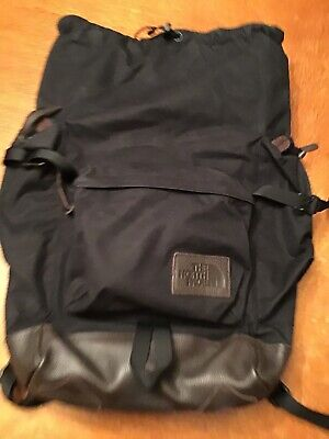 North Face Rucksack Backpack Leather Bottom New with Tags
