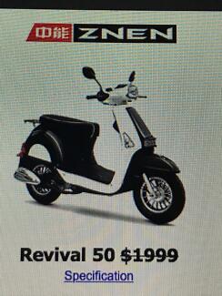 4 stroke 50cc Moped