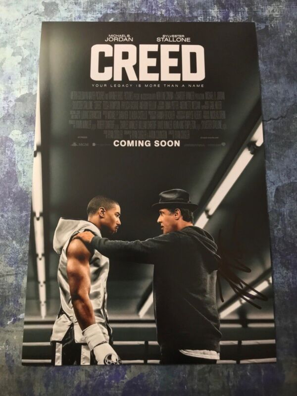 GFA Creed Bianca Movie * TESSA THOMPSON * Signed 12x18 Photo Poster COA