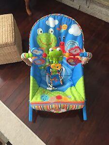 Rocking musical chair