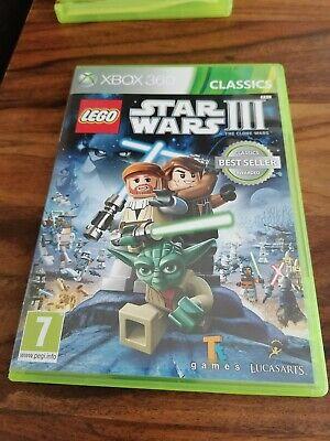 STAR WARS 3 LEGO XBOX 360
