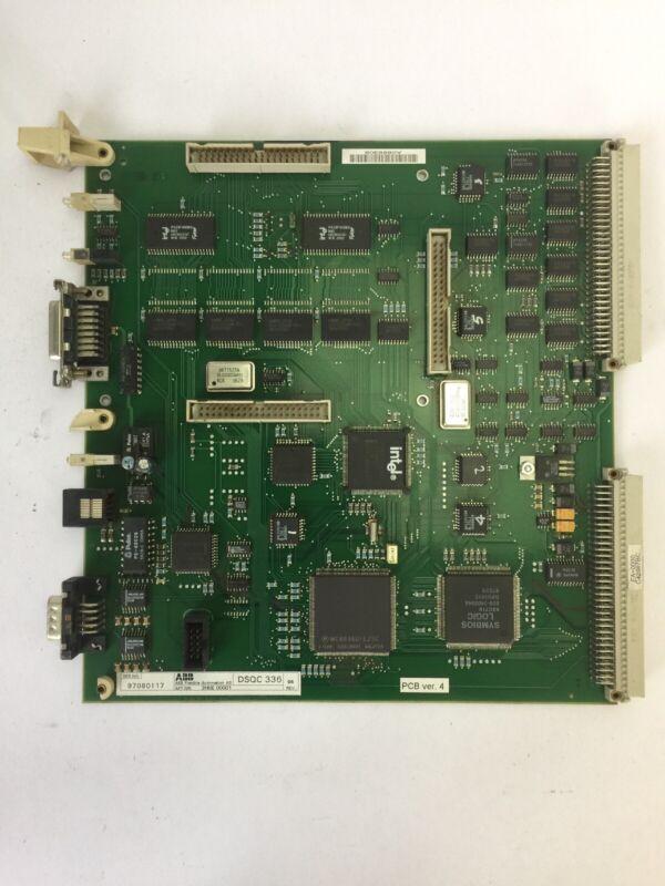 ABB DSQC 336 3HNE 00001 ETHERNET CIRCUIT BOARD PCB VER.4