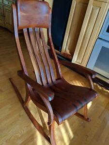 Chaise berçante Dugal