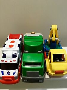 Great trucks for sand pit $15 for 3 Woodlands Stirling Area Preview