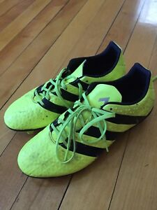 Adidas cleats, men's size 8