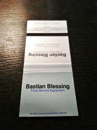 Vintage Matchcover: Bastian Blessing Food Service Equipment, Grand Haven, MI  EE