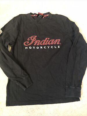 vintage indian motorcycle shirt Long Sleeves