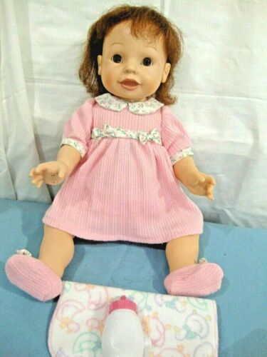 Playmates Amazing Babies Smart Response Interactive Doll Will Talk and Look