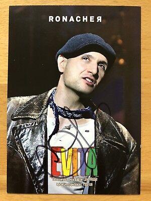 Drew Sarich AK Evita Ronacher Autogrammkarte original signiert