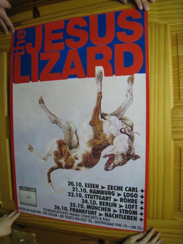 The Jesus Lizard Poster Concert German Tour