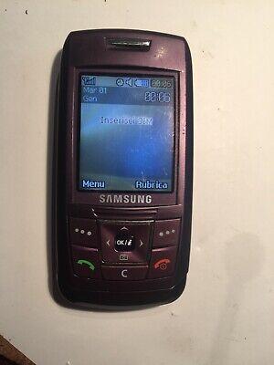 Usado, Samsung sgh  e250i Perfettamente Funzionante SGHI SAMSUNG segunda mano  Embacar hacia Spain