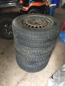 Tiger Paw Winter Tires and Rims 195/65R15