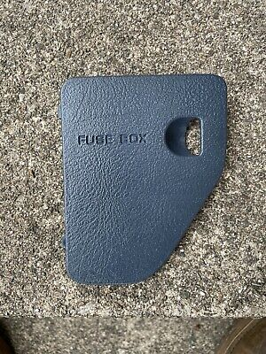 94 97 DODGE RAM PICKUP TRUCK FUSE BOX ACCESS DOOR LID COVER 1500 2500 3500 BLUE
