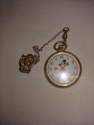 Lorus mickey mouse pocket watch