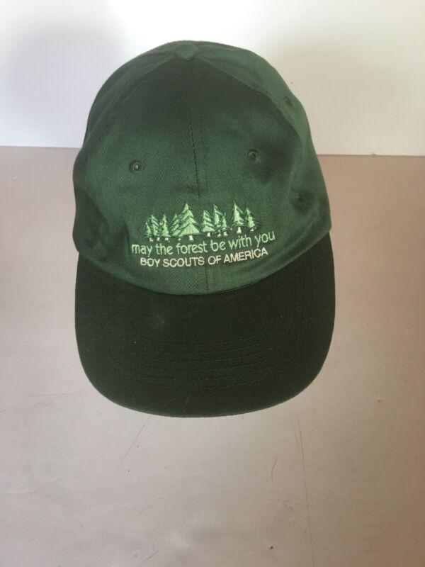 Trucker Baseball Hat Boy Scouts Of America Green Adjustable