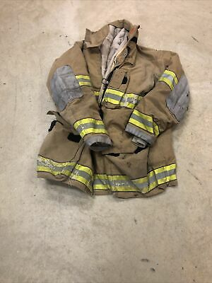 Mfg. 2007 Globe Gxtreme 46 X 35 Firefighter Turnout Bunker Jacket Fire Rescue