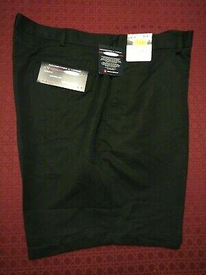 ROUNDTREE & YORKE- Classic Black Microfiber Shorts, Men's Sz. 42 New Classic Microfiber Shorts