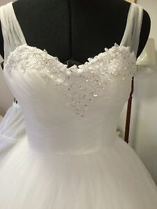Deb ,Debutante, Wedding White /Ivory Dress Bayswater North Maroondah Area Preview