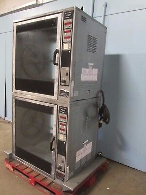 Henny Penny-scr 8 H.d. Commercial Dbl Stacked Digital Electric Rotisserie Oven