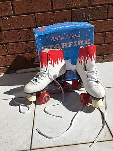 Roller skates, hand painted size 37 Earlwood Canterbury Area Preview