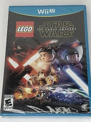 LEGO Star Wars: The Force Awakens Nintendo Wii U Free Shipping Brand New US Sell