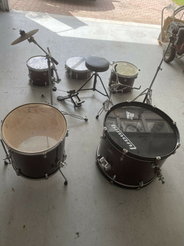 drum set used