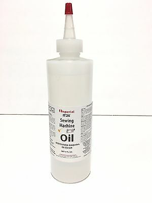 Sewing Machine Oil - 8 Fl. Oz. Juki Singer Consew Brother Kenmore Viking