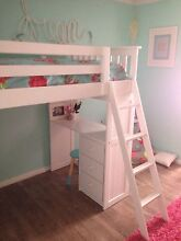 White loft bed- MUST SELL Bedford Bayswater Area Preview