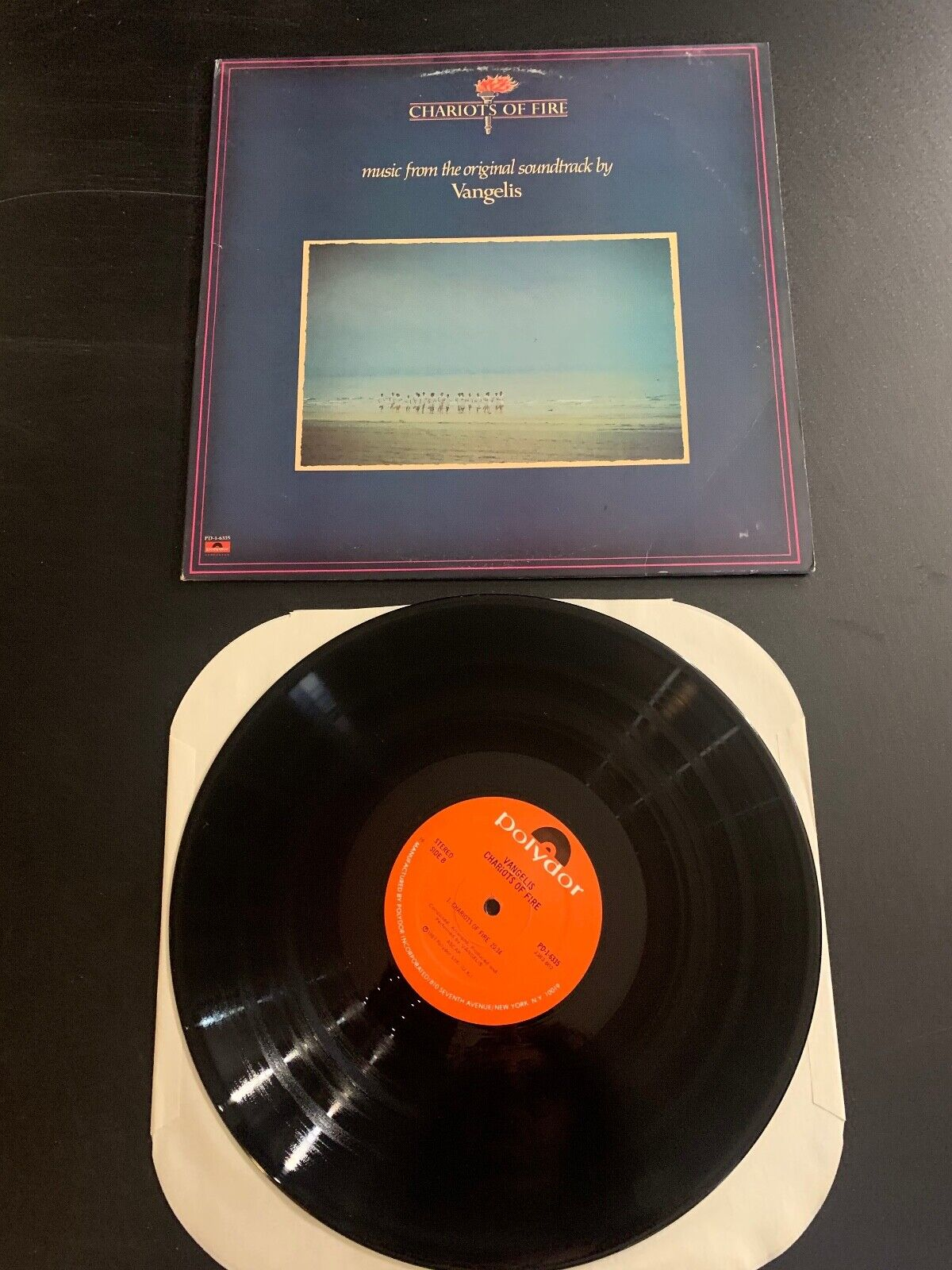 LP RECORD - CHARIOTS OF FIRE - ORIGINAL SOUNDTRACK - POLYPRO RECORDS - $9.99
