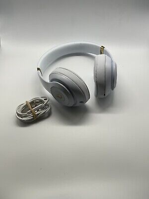 Beats Studio 3 Wireless Bluetooth Headphones White/Gold