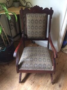 Antique Platform Rocker