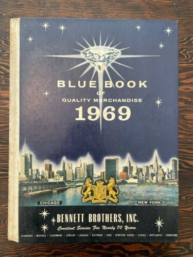 1969 BENNETT BROTHERS Blue Book Catalogue Vintage Retro FREE SHIPPING