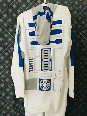 Star Wars - Jumpsuit Jump Suit Overall Pyjama Kostüm R2 D2 Groovy Disney NEU OVP ()