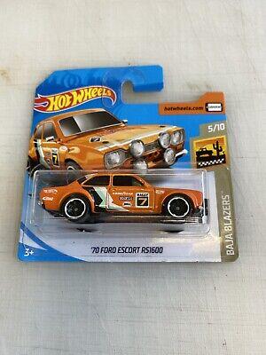 hot wheels escort rs1600
