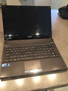 """ASUS Laptop 13"""" with charging cable."""