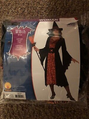 Halloween Costume Woman Bruja Witch Small, Medium, Large and X-Large](Halloween Costumes Witch Woman)