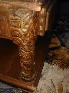 Old Chinese hand carved table.a good collectors piece. Nowra Nowra-Bomaderry Preview