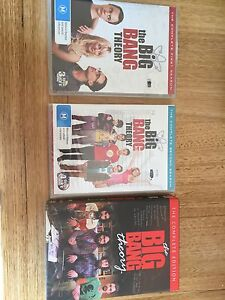 Complete Seasons 1,2,4 Big Bang Theory Melbourne CBD Melbourne City Preview