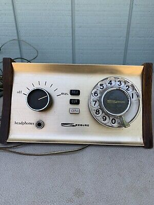 Seeburg Telephone Dial Remote Control for Home Stereo Console (HSC)